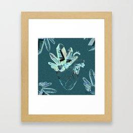 Crystal Organ Framed Art Print