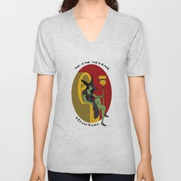 No one mourns the deatheater Unisex V-Neck