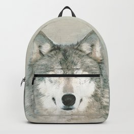 The Gray Wolf - Sketch Backpack