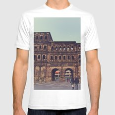 Gate to Another World MEDIUM Mens Fitted Tee White