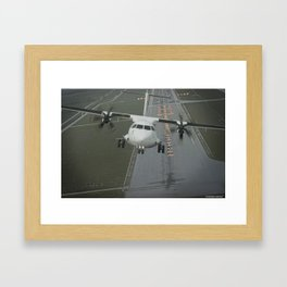 ATR 72-600 Framed Art Print