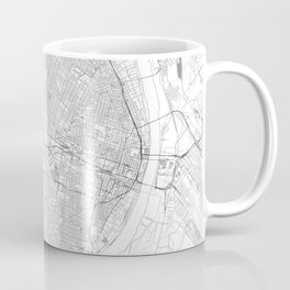 St Louis Map, Art Print By LandSartprints Coffee Mug