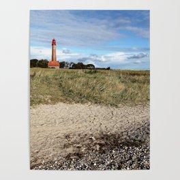 Leuchtturm Flügge Poster