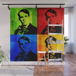 W. B. YEATS - 4-UP POP ART COLLAGE Wall Mural