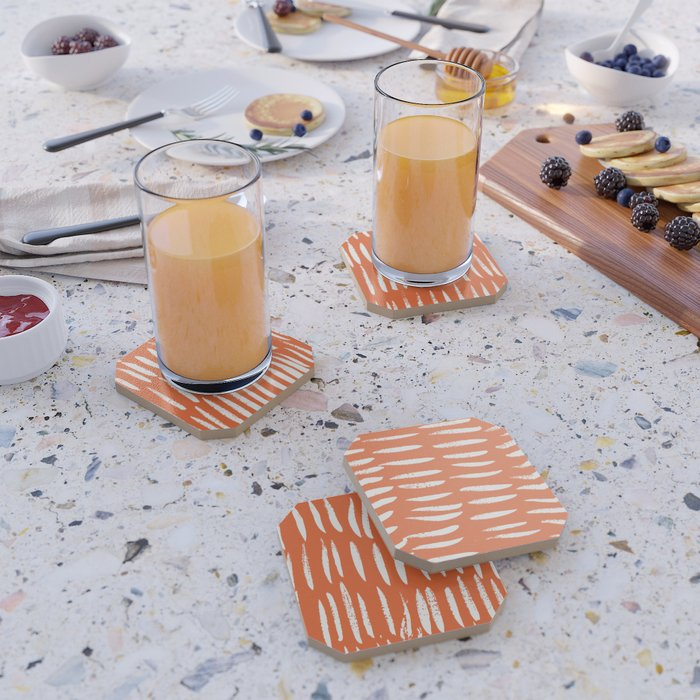 Brush Stroke Staccato Coaster
