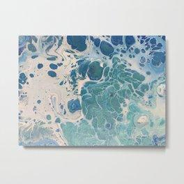 blue6 Metal Print