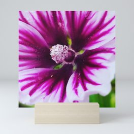 Stand alone purple Mini Art Print