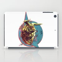 spiritual iPad Cases featuring Spiritual Tiger by Rene Alberto