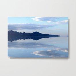 Soft Reflections Metal Print