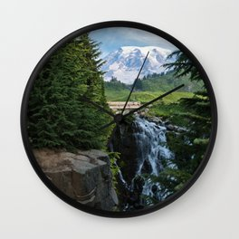 View from Paradise Wall Clock