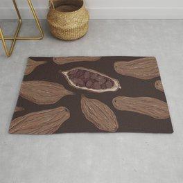 Cocoa beans Rug
