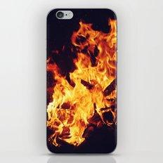 Let It Burn iPhone Skin