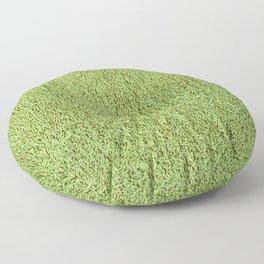 Phlegm Green Shag Pile Carpet Floor Pillow