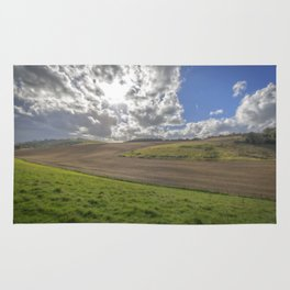 Southdowns. Rug