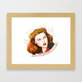 Sure. Fine. Whatever. Framed Art Print