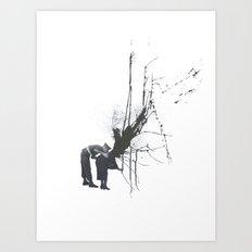 Still Mourning Art Print