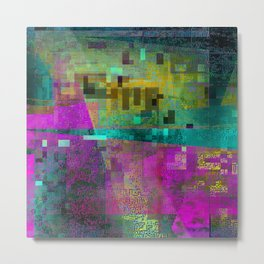 digital culture 1 Metal Print
