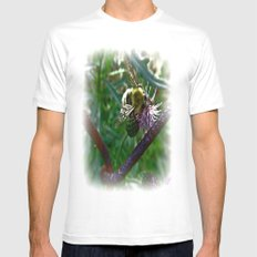 Limited Edition MEDIUM White Mens Fitted Tee