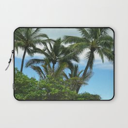 Tropical Hawaiian Beach in Pristine Paradise Laptop Sleeve