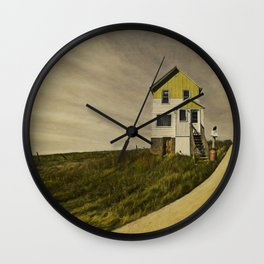 I've been waitin' for a long, long time. Wall Clock