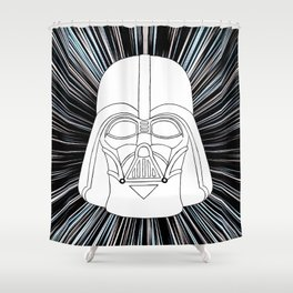 Vader in Hyperspace Shower Curtain