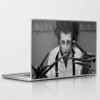 edward scissorhands Laptop & iPad Skins featuring Edward Scissorhands by ururuty