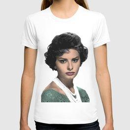 SOPHIA L O R E N T-shirt