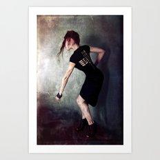Dances on a Table Art Print