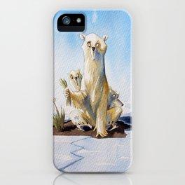Whitepeace iPhone Case