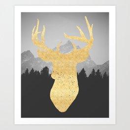 Mountain Life Print Art Print