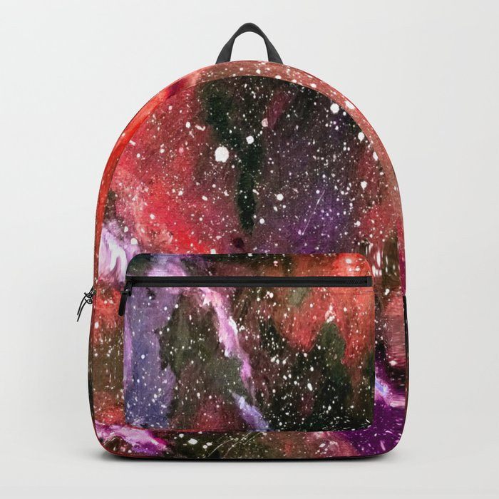 Galaxy (red) Backpack