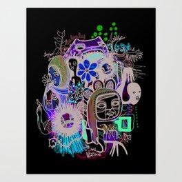 """and Love"" Art Print"