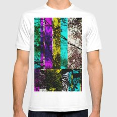 Colorbar MEDIUM White Mens Fitted Tee