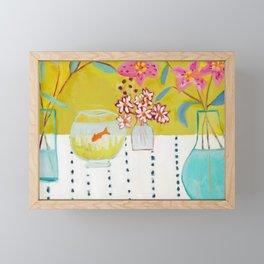Stargazer Lilies Framed Mini Art Print
