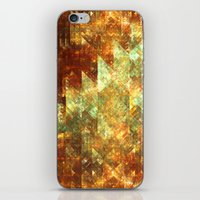 crystals iPhone & iPod Skins featuring Crystals by Rhawrbhawrburr