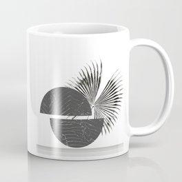 Contrast - Minimalism Mid-Century Modern Forms Coffee Mug