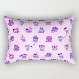 Blueberry frog Rectangular Pillow