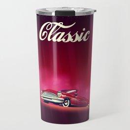 Classic Vintage Car, Travel Mug
