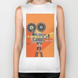 Cine: Orange Biker Tank