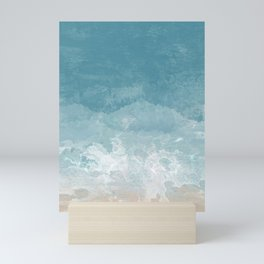 Calm Ocean Painting Mini Art Print