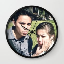 Michelle & I Wall Clock
