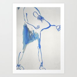Dance Dance Dance!! Art Print