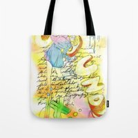sound Tote Bags featuring Sound by MODESTo! Prints