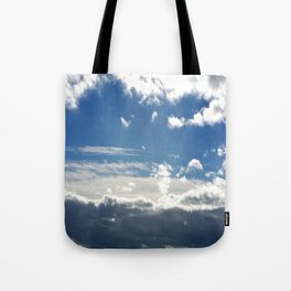 Windy Day Sky Tote Bag