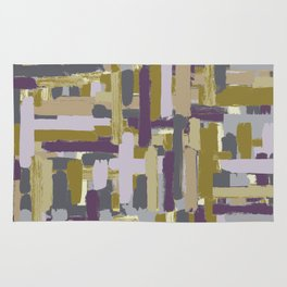 abstract marks Rug