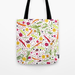 Fruits and vegetables pattern (21) Tote Bag