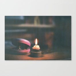 light it up Canvas Print