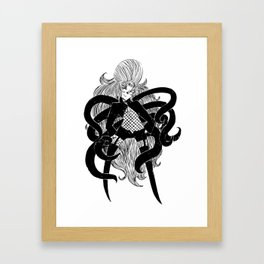 Octo*Doug Framed Art Print