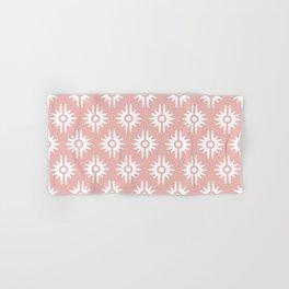 Mid Century Modern Bang Pattern 271 Dust Rose Hand & Bath Towel