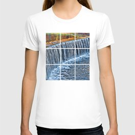 Waterfall near Flatrock T-shirt